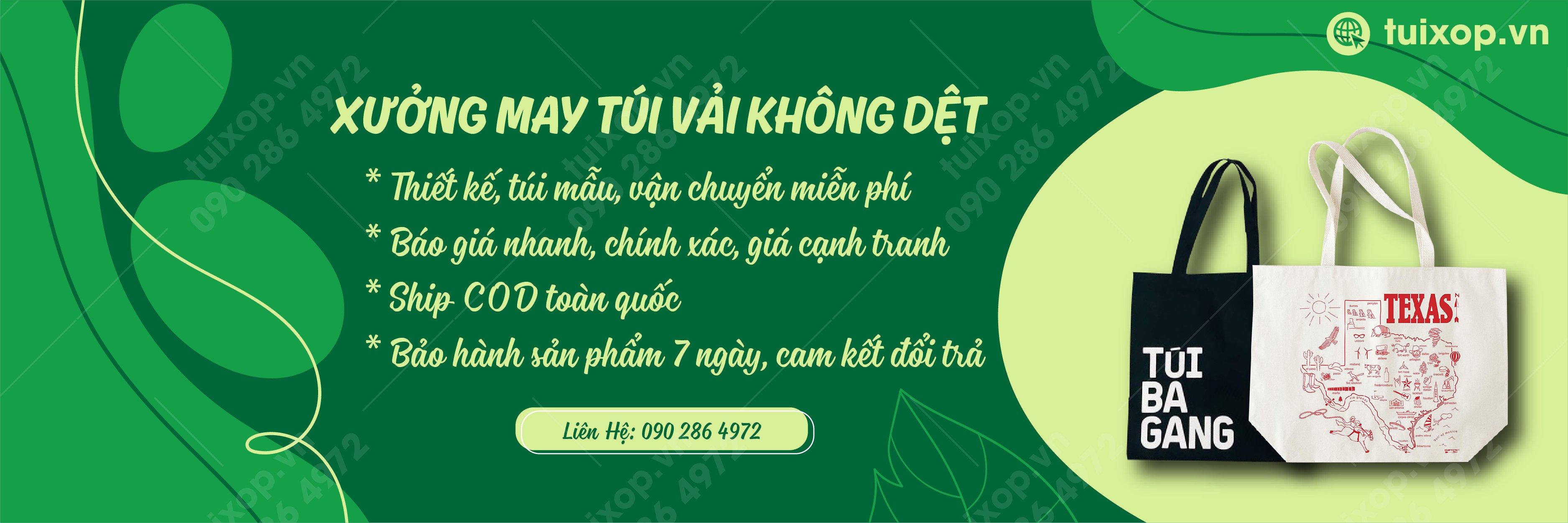 Tuixop.vn - xuong may tui vai khong det so 1 tphcm