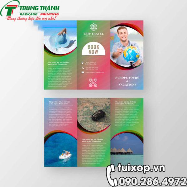 in an brochure tp hcm